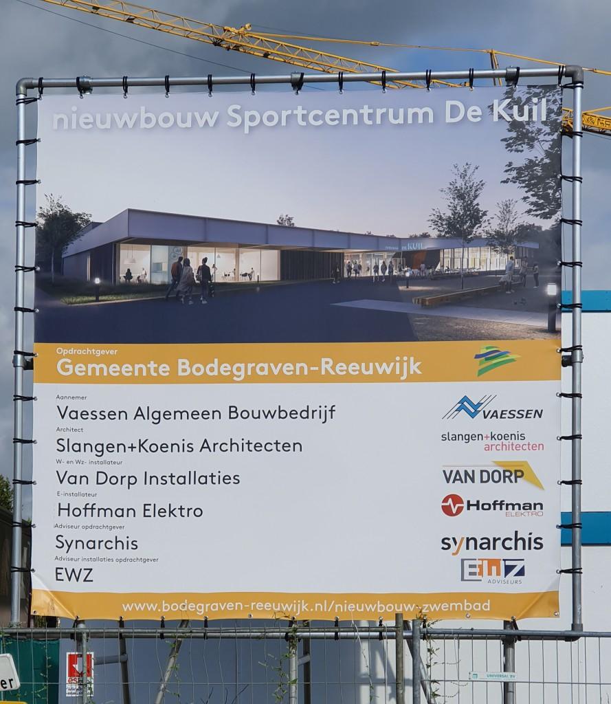 Sportcentrum de Kuil Bouwbord